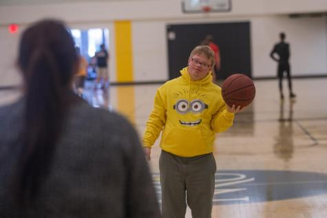 On and off court, SHEP student finds home in Rec Center