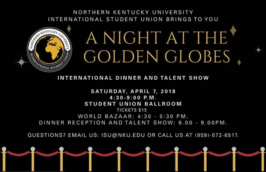 The Northerner International Student Union Dinner Rolls Out The