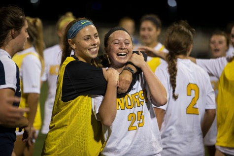 Penguins overcome early deficit to defeat Norse
