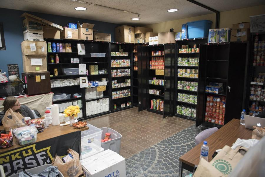 NKU food pantry growing, moving to Albright Center