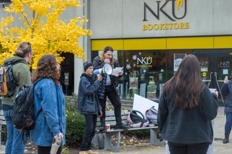 At campus pro-life display, opinions split on Roe v. Wade