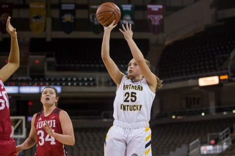 Second half rally falls short for NKU women