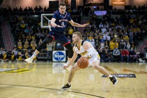Norse fight to take down Detroit Mercy, advance in the tournament