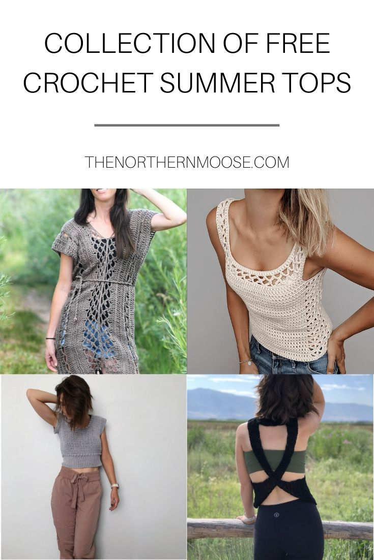 Free Crochet Summer Tops
