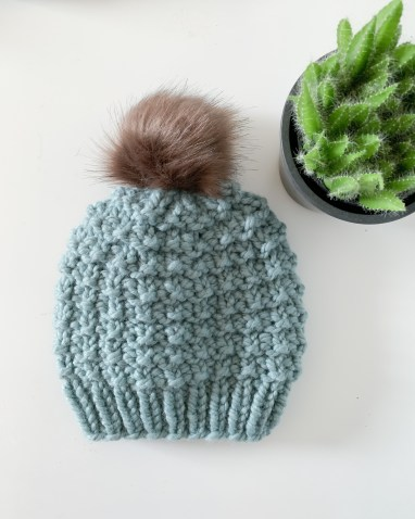 Harriet Beanie free knitting pattern