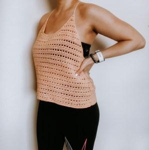 Roxborough Crochet Summer Tank Top