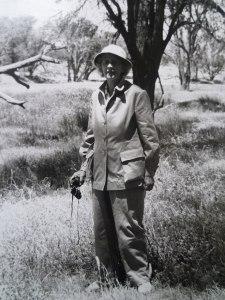 Lady Sybil Middleton visits Kenya in 1956
