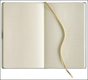 Image showing inside of Branded Notebooks with lined pages