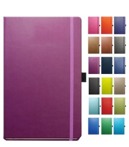 Colours available for the Tucson Branded Notebook from The Notebook Warehouse
