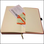 Image showing Envelope Pocket in Castelli Corporate Notebooks by The Notebook Warehouse