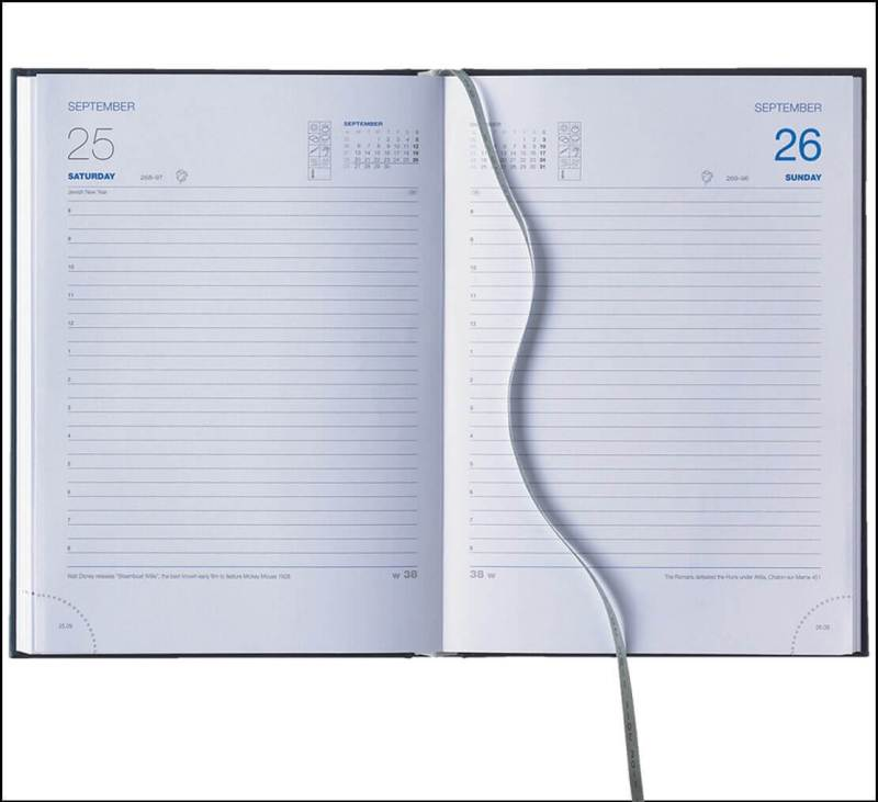 Company Diaries available in A5 Daily Diary format from The Notebook Warehouse.