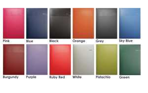 Matra Branded Diaries 2016 Range of Colours from The Notebook Warehouse