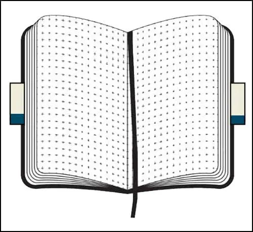 Softcover Customised Moleskine Notebooks with dotted pages from The Notebook Warehouse
