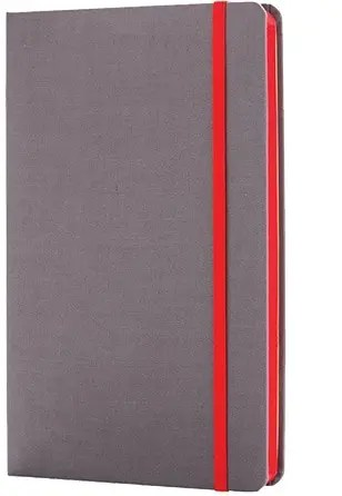A5 Deluxe Fabric Contrast Custom Notebooks from The Notebook Warehouse.