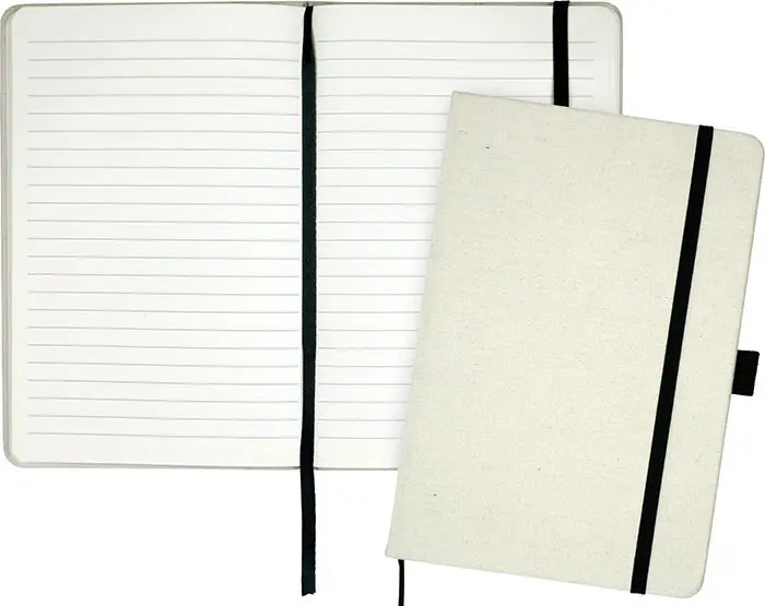 Image showing interior of Downswood A5 Eco Branded Notebooks from The Notebook Warehouse