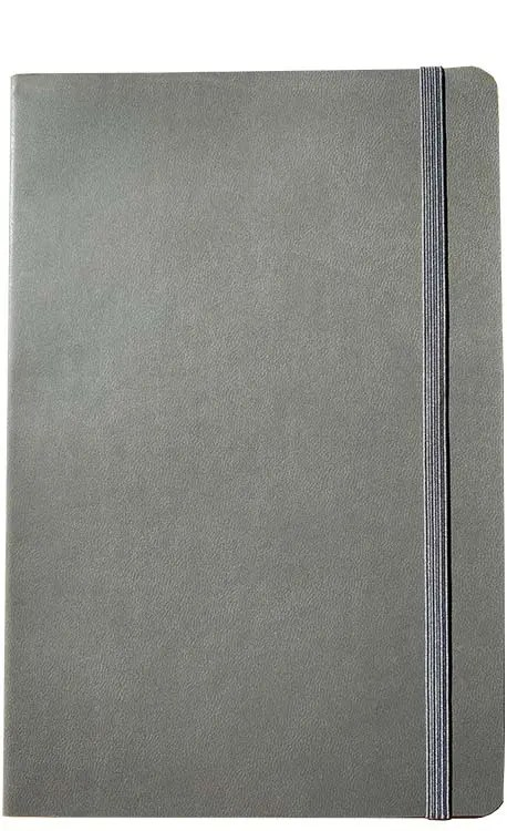 Product image of FLXA5 Flexible Branded Notebooks in Grey by The Notebook Warehouse