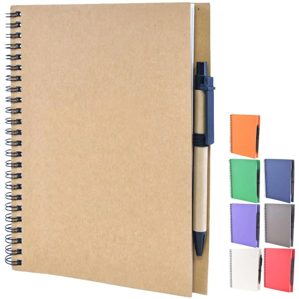 Image showing the collected colours of Intimo Recycled Branded Notebook