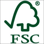 Image of FSC Logo which is used on Tucson Branded Notebooks from Castelli Branded Notebooks from The Notebook Warehouse