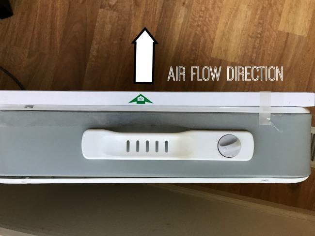 Box Fan Filter