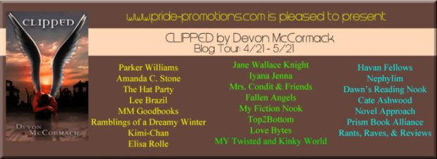 Clipped Blogger Banner 4-24