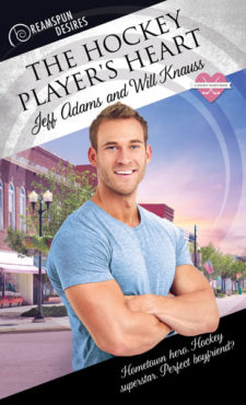 Guest post and giveaway the hockey players heart by jeff adams and about the book fandeluxe Image collections
