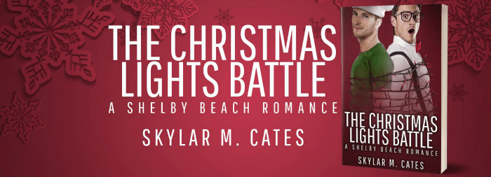 Guest Post And Giveaway The Christmas Lights Battle A Shelby Beach