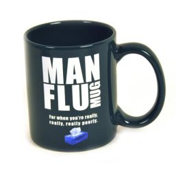 Man Flu Novelty Gifts Mug