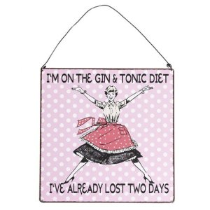Novelty Diet Gifts Signs