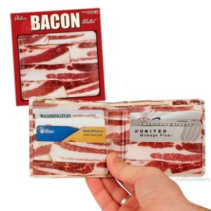 Novelty Bacon Gifts Wallet