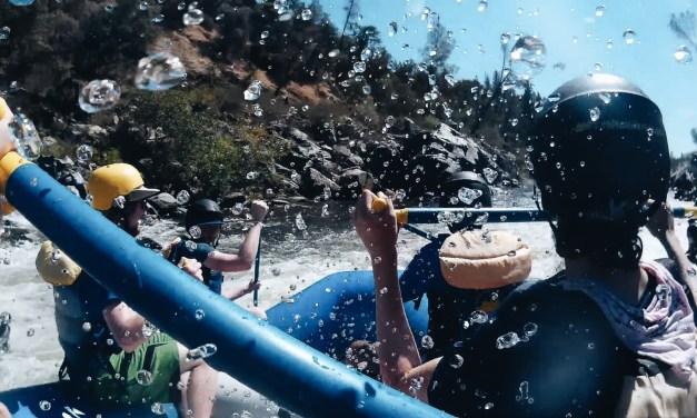 Nueva Goes Rafting