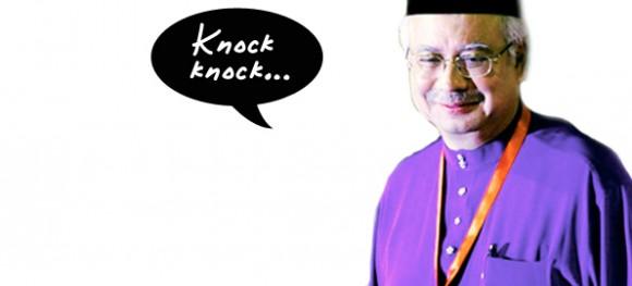 Najib Razak (pic courtesy of <i>theSun</i>)<br>
