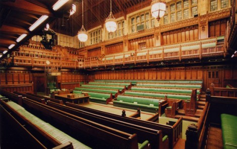 British House of Commons (Wiki commons)