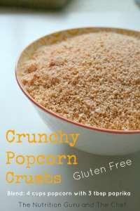 Crunchy Popcorn Crumbs – Gluten Free