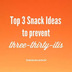 Top 3 Healthy Snack Ideas