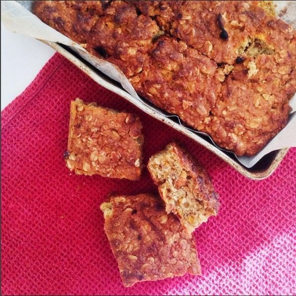Sweet Potato and Oat Bars