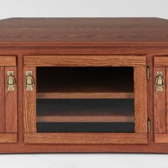 Queen Anne Side Chairs Cherry Leather Guest Mission Style Solid Oak Corner Tv Stand W/glass Door - 64
