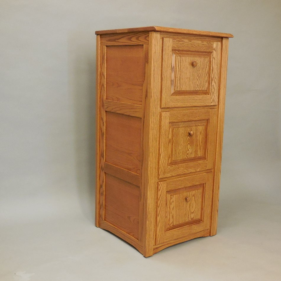 queen anne side chairs cherry cochrane oak table and country classic style solid 3 drawer filing cabinet - the furniture shop