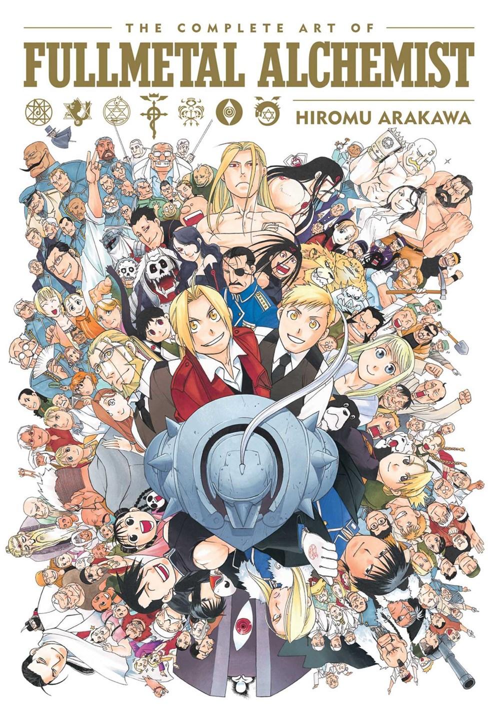 The Complete Art of Fullmetal Alchemist Artbook Review ...