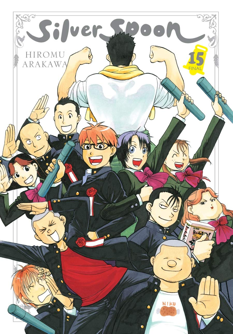 The Anti-Social Geniuses Review: Silver Spoon Volume 15