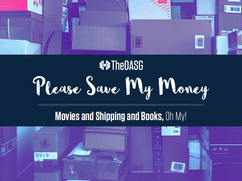 Movies and Shipping and Books, Oh My!