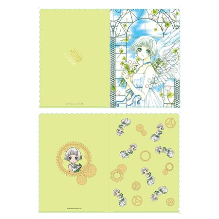 CLAMP 30th Anniversary Clear File Set - Clover