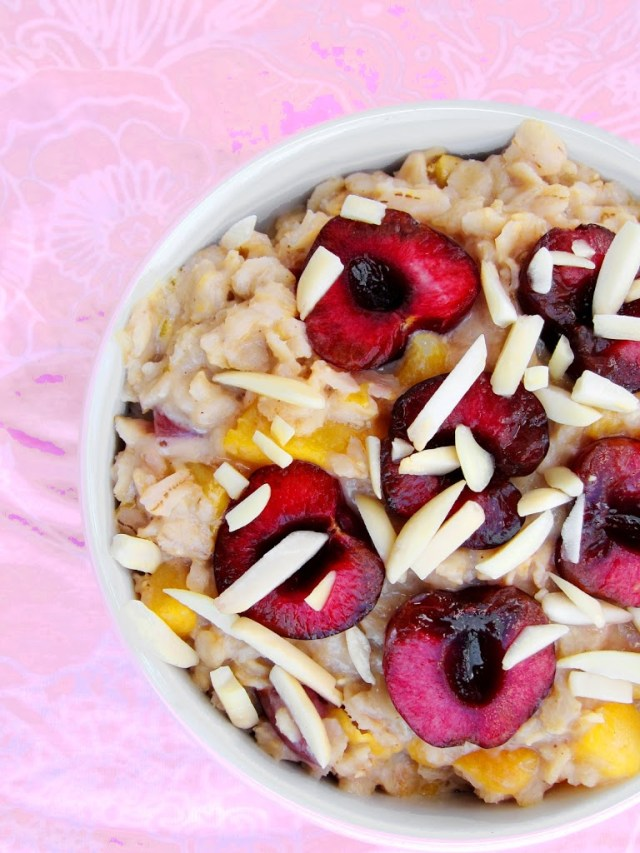 peach-cherry-almond-oatmeal-001