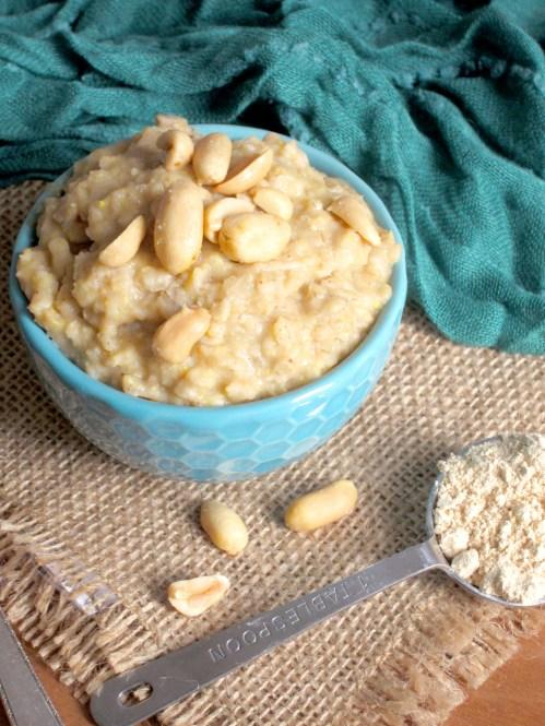 Peanut Butter Cookie Dough Oatmeal - The Oatmeal Artist
