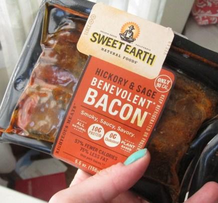 Sweet Potato, Bacon, and White Chocolate Oatmeal - sweet earth bacon