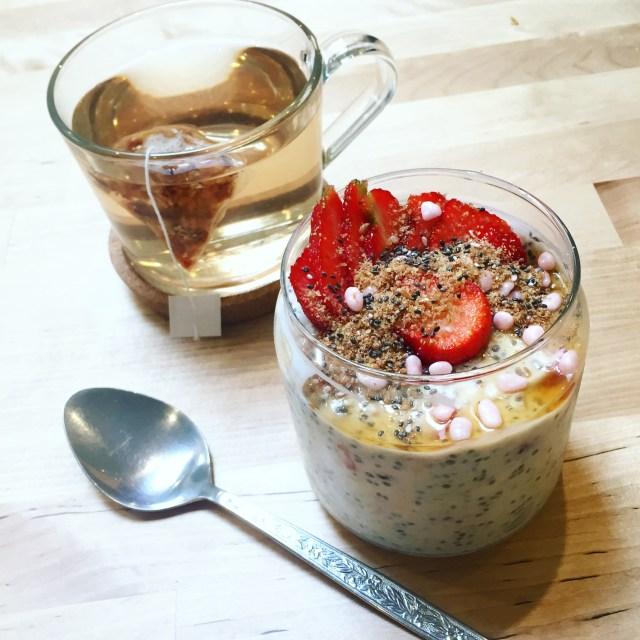 thursday - overnight oats