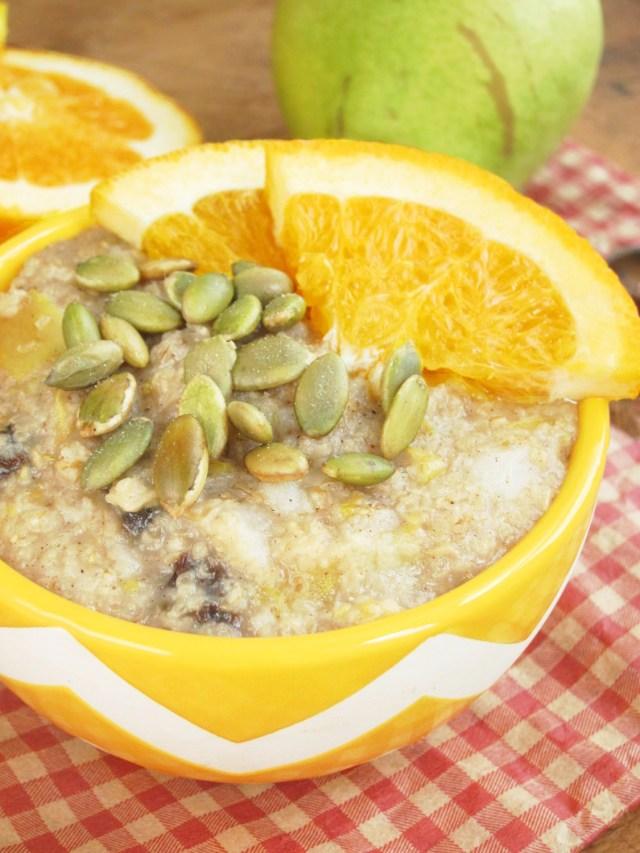 citrus-pear-oatmeal-vegan-oatmealartist