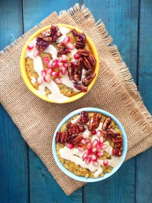 kabocha-pomegranate-oatmeal-with-tahini-and-pecans-2