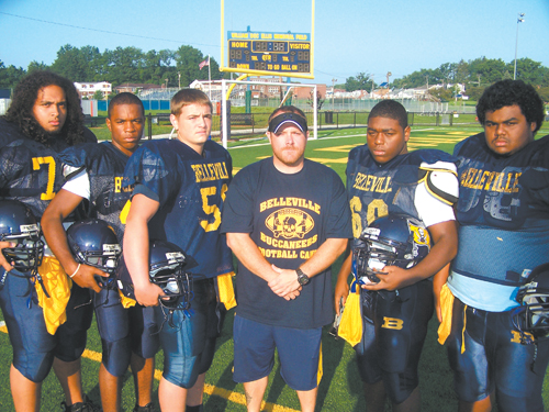 Belleville football looks to new future with new coach