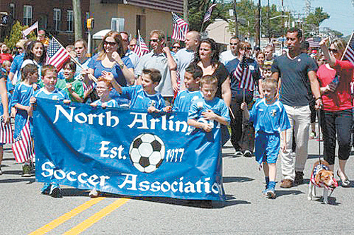 Photo courtesy Borough of North Arlington North Arlington Soccer Association
