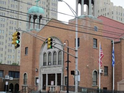 Photo by Ron Leir Evangelismos Church will be surrender site